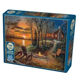 Cobble Hill Fireside - 500 Piece Puzzle