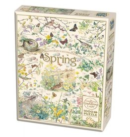 Cobble Hill Country Diary: Spring - 1000 Piece Puzzle