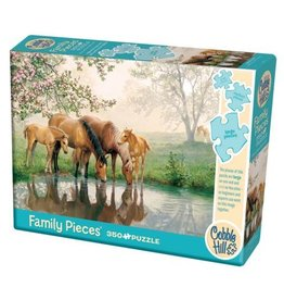 Cobble Hill Horse Family - 350 Piece Puzzle