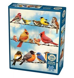 Cobble Hill Birds on a Wire - 500 Piece Puzzle
