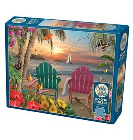 Cobble Hill Island Paradise - 500 Piece Puzzle
