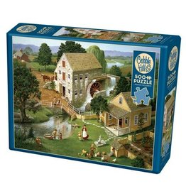Cobble Hill Four Star Mill - 500 Piece Puzzle