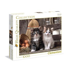 Clementoni Lovely Kittens - 1000 Piece Puzzle