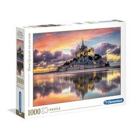 Clementoni Le magnifique Mont Saint-Michel - 1000 Piece Puzzle
