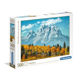 Clementoni Grand Teton in Fall - 500 Piece Puzzle