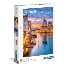 Clementoni Lighting Venice - 500 Piece Puzzle
