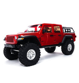 Axial 1/10 SCX10 III Jeep JT Gladiator with Portals RTR - Red