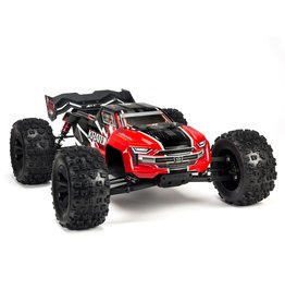 Arrma 1/8 KRATON 6S BLX 4WD Brushless Speed Monster Truck with Spektrum RTR - Red