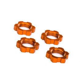 Traxxas 7758T - X-Maxx Wheel Nuts Splined 17mm - Orange