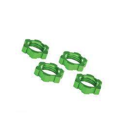Traxxas 7758G - X-Maxx Wheel Nuts Splined 17mm - Green