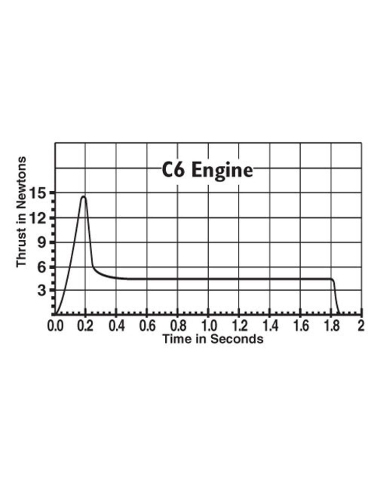 Estes C6-7 Standard Engine - 1615
