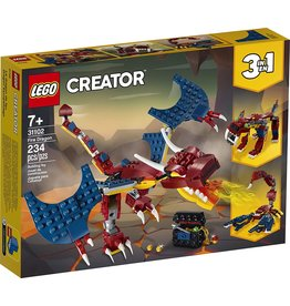 Lego 31102 - Fire Dragon 3-in-1
