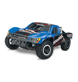 Traxxas 1/10 Slash with TSM 2WD Nitro Short Course Truck - Blue