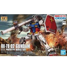 Bandai #26 RX-78-02 Gundam  (The Origin Ver.)