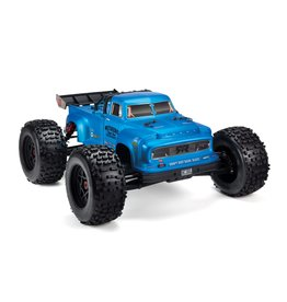Arrma 1/8 NOTORIOUS 6S BLX 4WD Brushless Classic Stunt Truck with Spektrum RTR - Blue