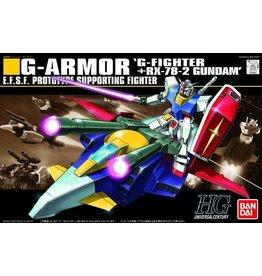 Bandai #50 G-Armor: G-Fighter + RX-78-2 Gundam