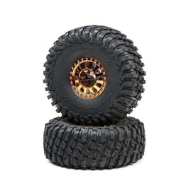 Losi LOS43028 - 2.2 Wheels with BFG Tire, Copper: Lasernut U4
