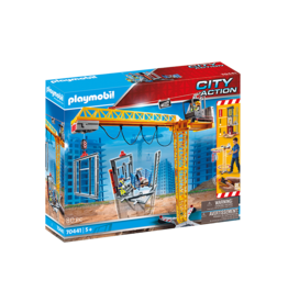 Playmobil 70441 - RC Crane with Building Section