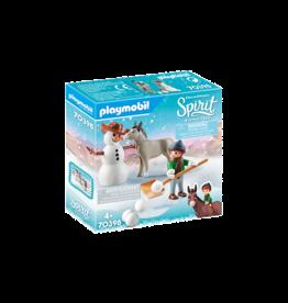 Playmobil 70398 - Snow time with Snips & Senor Carrots