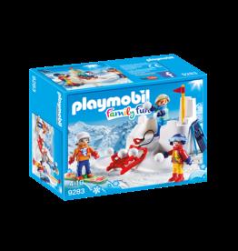 Playmobil 9283 - Snowball Fight
