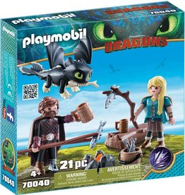 Playmobil 70040 - Hiccup and Astrid Playset