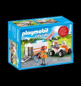 Playmobil 70053 - Rescue Quad with Trailer