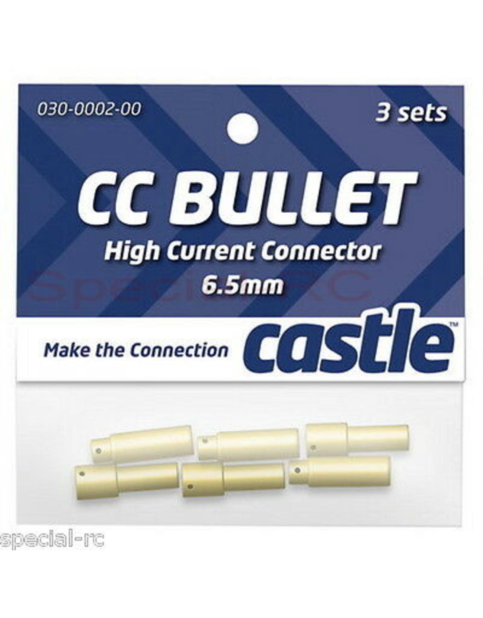 Castle Creations Castle Creations - 6.5mm Bullet Connector 13G/8G - 200A