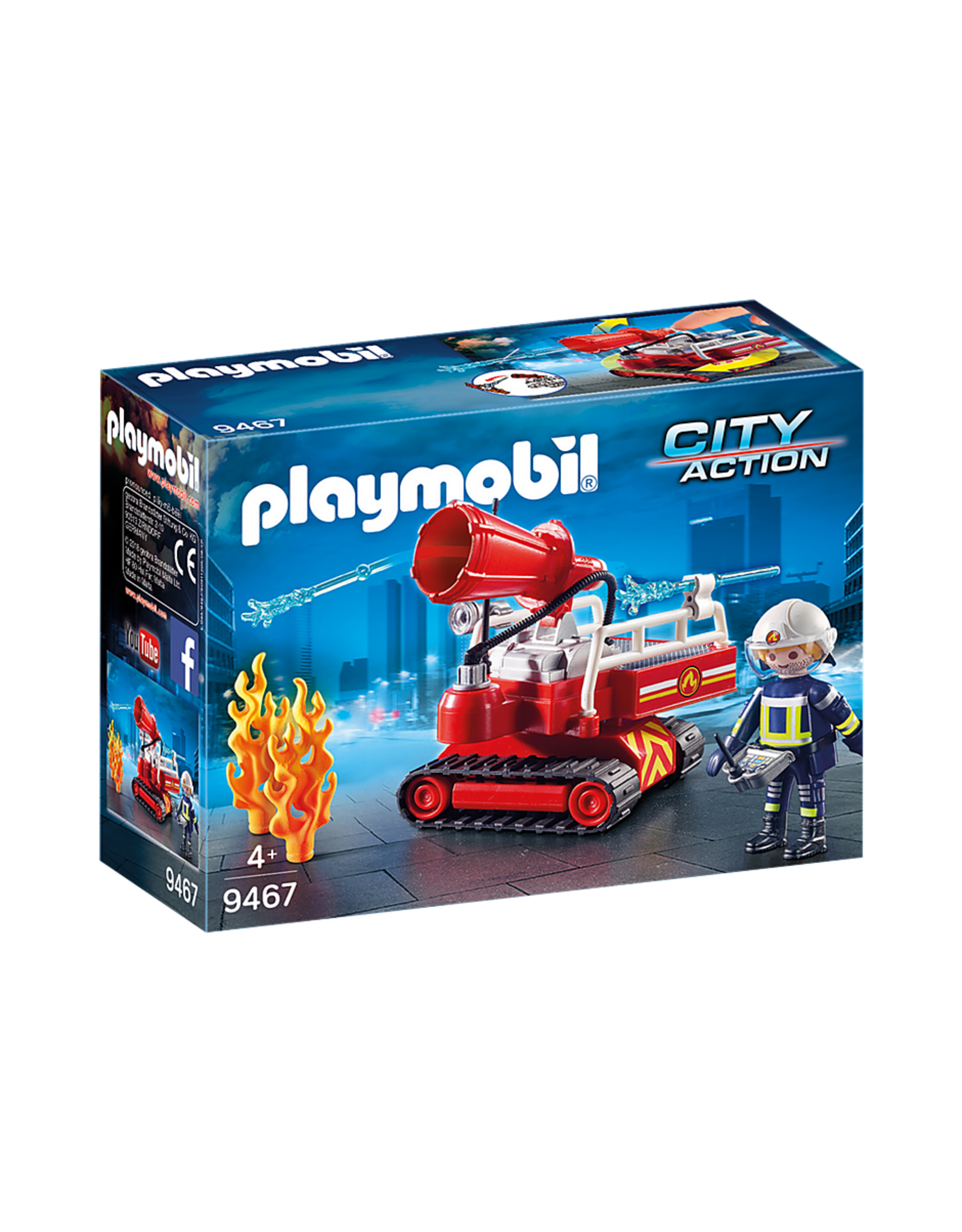Playmobil 9467 - Fire Water Cannon