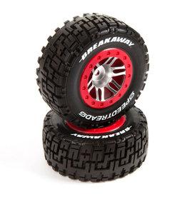 Duratrax DTXC2939 - SpeedTreads Breakaway Short Course Tires Mounted (2)