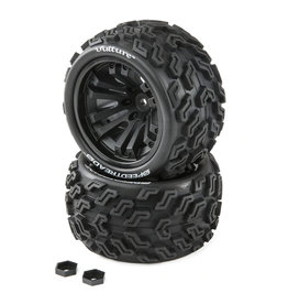 Duratrax DTXC2901 - SpeedTreads Vulture ST/MT Tires Mounted (2)
