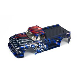 Arrma ARA410005 - Infraction 6S BLX Painted Body - Blue/Red