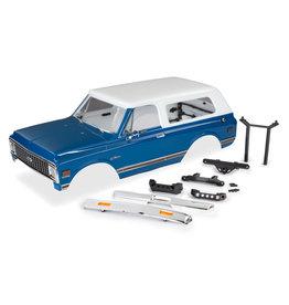 Traxxas 9111X - '72 Chevrolet Blazer Body Complete Kit - Blue