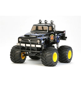 Tamiya 1/12 Midnight Pumpkin Monster Truck - Black Edition