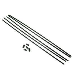 Tekno RC TKR5126 - Antenna Tubes Universal w/Caps (5)