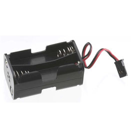 Tactic TACM2020 - 4 Cell AA Battery Holder - Futaba Connector