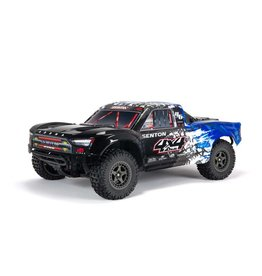 Arrma 1/10 SENTON 3S BLX V3 4WD Brushless Short Course Truck with Spektrum RTR - Blue/Black