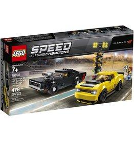 Lego 75893 - 2018 Dodge Challenger SRT Demon / 1970 Dodge Charger R/T
