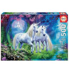 Educa Unicorns In The Forest - 500 Piece Puzzle