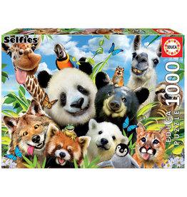 Educa Llama Drama Selfie - 1000 Piece Puzzle