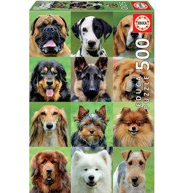 Educa Dogs Collage - 500 Piece Puzzle