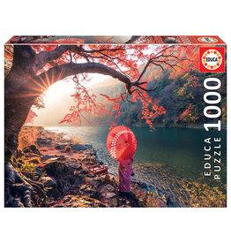 Educa Sunrise In Katsura River, Japan - 1000 Piece Puzzle
