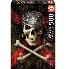 Educa Pirate Skull - 500 Piece Puzzle