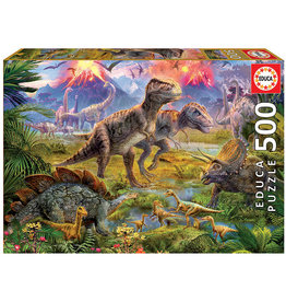 Educa Dinosaur Gathering - 500 Piece Puzzle
