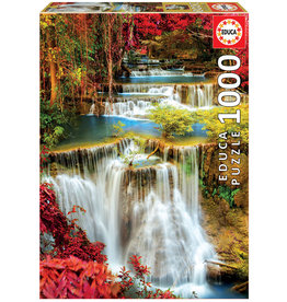 Educa Waterfall In Deep Forest - 1000 Piece Puzzle