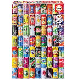 Educa Soft Cans - 500 Piece Puzzle