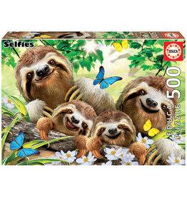 Educa Sloth Family Selfie - 500 Piece Puzzle
