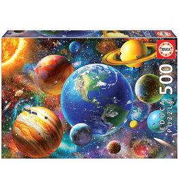 Educa Solar System - 500 Piece Puzzle