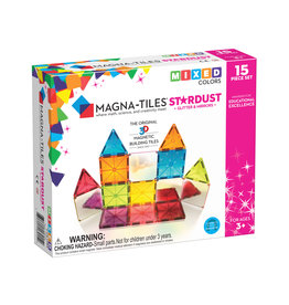 Valtech Magna-Tiles® Stardust 15-Piece Set