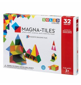 Valtech Magna-Tiles® Solid Colors 32-Piece Set