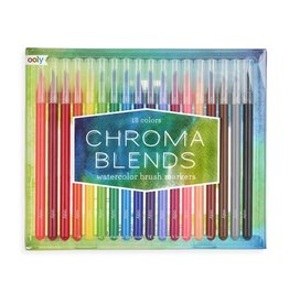 Ooly Chroma Blends Watercolor Brush Markers (4)